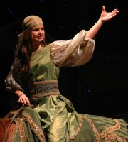Arabian Nights-Green Gypsy by Della-Stock