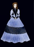 POTO Cemetery gown by Selinelle