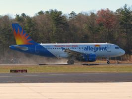 Allegiant A319 Rollout by InDeepSchit