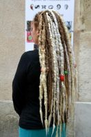 Huge long dreads - custom made by Psycho Lily by PsychoLilyDreads