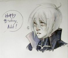 Happy B-day by ArikaTwins