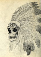 Indian Skull by Kallemar77