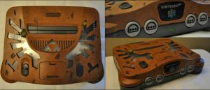 Legend of Zelda: Custom N64 by Mace-X