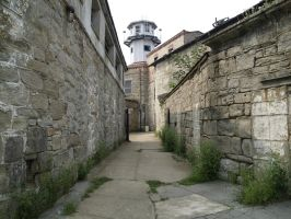 Eastern State Penitentiary 55 by Dracoart-Stock