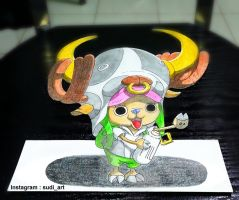 3D CUTE CHOPPER by SudiLin