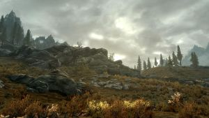 Landscape of Whiterun 17 by Marina17
