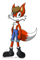Skye-foxtail -PC- by Amandaxter