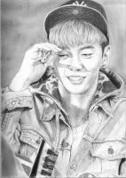Bang Yongguk OF B.A.P by GabbeyMarie