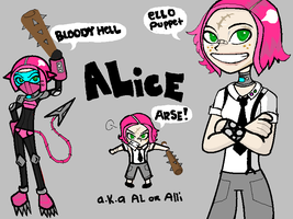 TFA academy oc: Alice Goodwill by joyfulmelancholy