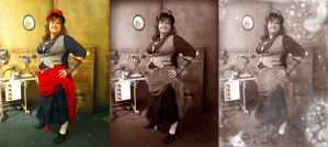 Vintage photo effect photoshop by tursiart