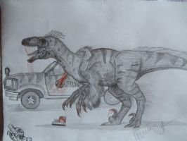 JP-Expanded   Utahraptor by Teratophoneus