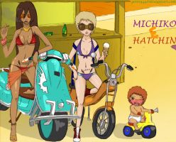 michiko to hatchin by genny44