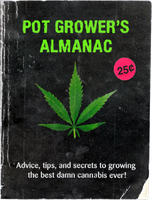 Pot Grower's Almanac Cover by MrAngryDog