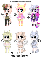 emergency adoptables: PAYPAL - 1 OPEN by NauticalSparrow