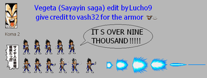 Vegeta Over 9000 Koma 2 JUS by Lucho9