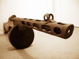 PPSh-41 Submachine Gun by ToxicGas