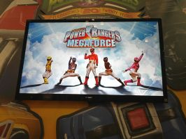 Power Rangers Megaforce Shot at NYCC 2012 by DestinyDecade
