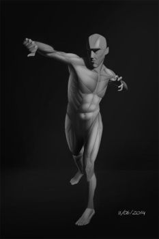 11 JUNE 2014 - Figure study by VonKulfon