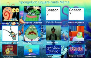 My SpongeBob Controversy Meme by FurryMessVSTheCogs