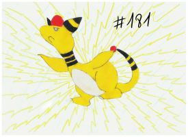 Ampharos, attack! by Cookies64