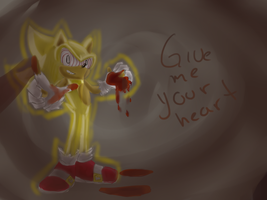 One Hour Sonic 002 Supersonic fleetway by jadenyugi9