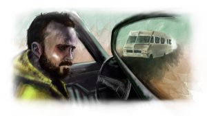 Reflecting on Breaking Bad - Jesse by Ben-Walsh