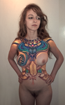 Body Art - first effort by Harnois75