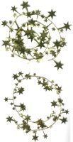 Gold Foil Star Spirals by FantasyStock