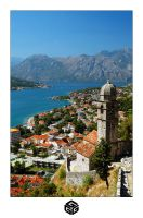 The Bay of Kotor by guffe