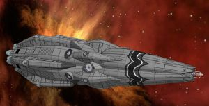 Xixaz Heavy Cruiser - Striking Arm by Andywerk