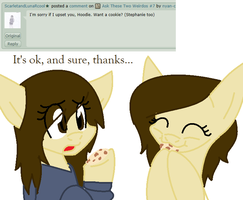 Ask These Two Weirdos #11 by nyan-cat-luver2000