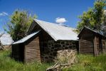 Stone Root Cellar and Outhouse by TRunna
