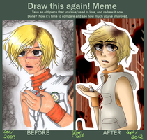 DRAW THIS AGAIN MEME THING. by TheGweny
