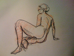 Nude Sketch by barcodegurl