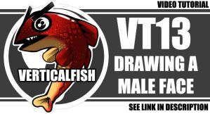 VT13 - Drawing A Male Face by verticalfish