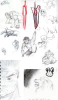 Sketchdump of 05 pt. 1 by mau