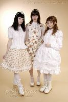 Three lolitas by VeneaGlorthiel