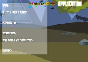 TDAG Application -NOW OPEN- by Markiehh