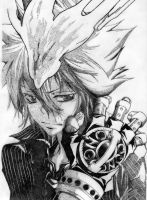 Vongola primo pointillism by Segneo