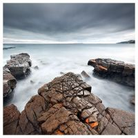 Sky and Rocks by SebastianKraus