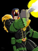 Judge Dredd by Bonorye