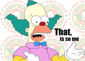 That is so Krusty by 3Santos