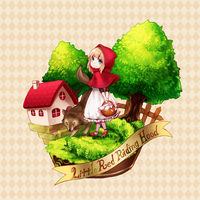 Little red riding hood by gurusha