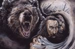 Beorn In Battle by peet