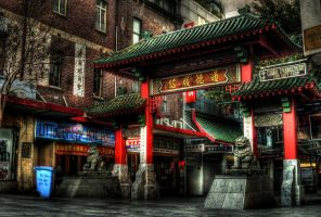 Chinatown HDR by youwha
