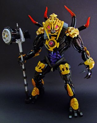 Makuta the Mask Breaker by Djokson