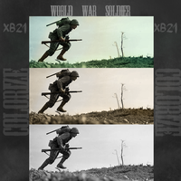 Colorize WW2 Soldier by XB21