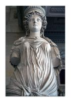 Statue unknown 12 - Louvre by unclejuice