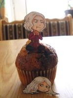 The muffin is waking the dragon by violent-cat