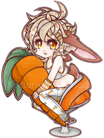 .: Bunny Boy Loves His Carrot :. by Nocturnally-Blessed